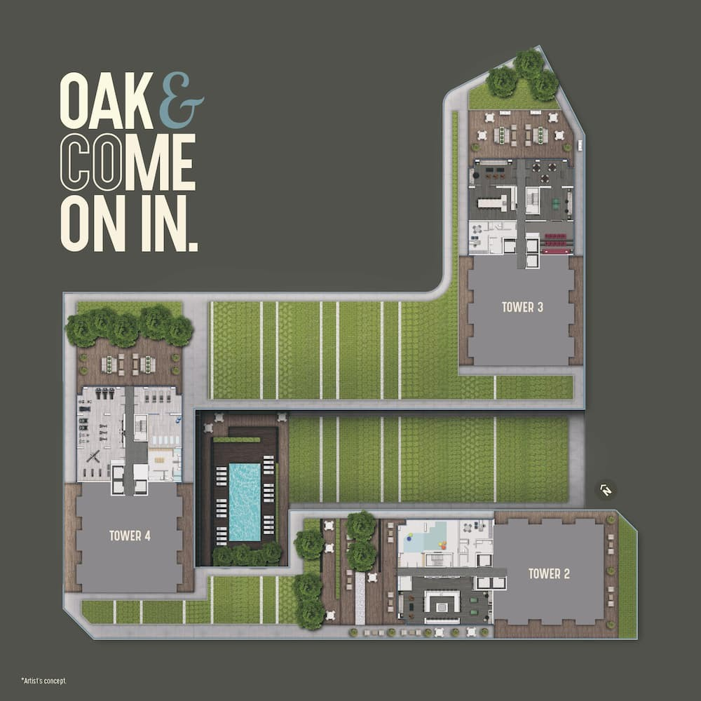 Amenities Floorplan